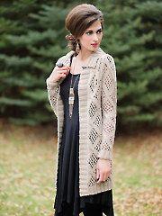 Knit - Afternoon Cardi Knit Pattern - #809269