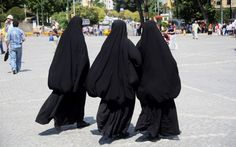 SHOCKING! THESE ARE JEWISH WOMEN IN AN ISRAELI TOWN. THE 'SHOCKING PART' IS THAT ISRAELI RABBI'S ARE CONDEMNING THE WEARING OF BURQA BECAUSE THEY SAY ITS ENCOURAGING PROMISCUITY. CLICK THE LINK AND READ...