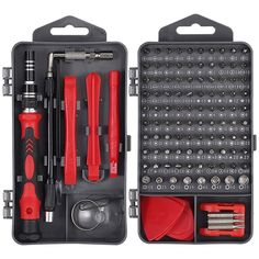 Hand Tool Kit, Hand Tools, Consoles, Mobile Phone Repair, Computer Repair, Screwdriver Set, Room Ideas, Products, Small Appliances