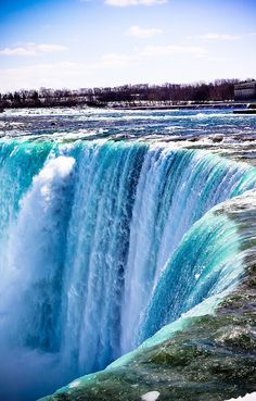 Niagara Falls.  Been to this one!