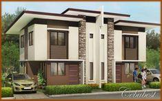 Modern Duplex Houses 29283wall.JPG