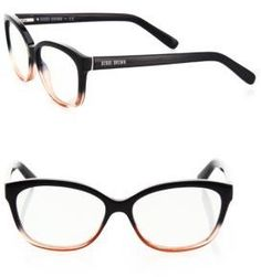 1ba9985428 Bobbi Brown The Mulberry 54MM Square Reading Glasses Brown Glasses