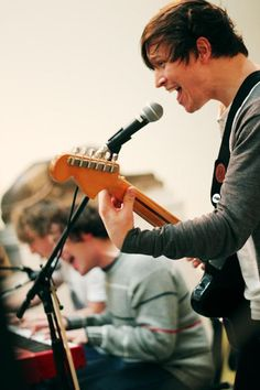 The Wombats <3 I'd never heard of them till I saw them at ACLfest last year (2012).