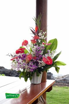 Wedding, Flowers, Hawaii, Big Island, Kona