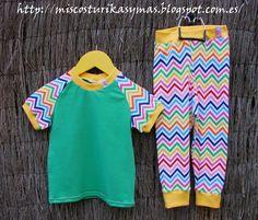 Conjunto de camiseta y leggins para bebe