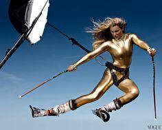 Lindsey Vonn - Vogue, May 2010