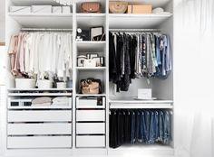 Closet Tour How to build your own Walk in Closet Ankleidezimmer Ikea Pax Walk in Closet Closet Wardrobe Dressing Room Closet Tour My Philocaly The post Closet Tour How to build your own Walk in Closet appeared first on Garderobe ideen.