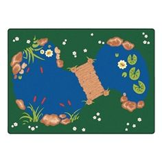 "Carpets For Kids Pond Rug (5' 10"" W x 8' 4"" L) https://www.schooloutfitters.com/catalog/product_info/pfam_id/PFAM420/products_id/PRO3184?sc_cid=Google_CFK-3000&adtype=pla&kw=&CAWELAID=1238974999"