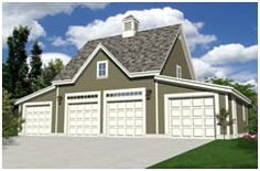 Carriage House Style Garage Plans at BackroadHome.net
