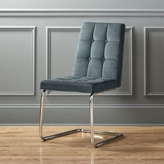 Add chic seating to your space with modern chairs. Browse stylish lounge chairs, dining room chairs, outdoor seating and more. Black Metal Dining Chairs, Modern Dining Chairs, Kitchen Chairs, Dining Room Chairs, Dining Room Furniture, Side Chairs, Lounge Chairs, Fur Chairs, Black Chairs