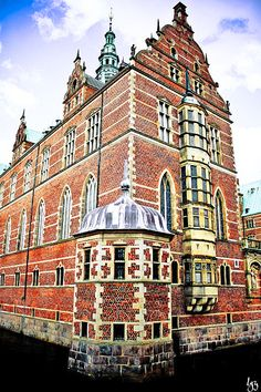 Frederiksborg Castle in Hillerød, Denmark