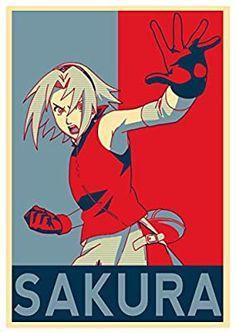 Instabuy Poster Naruto Propaganda Sakura - A3 (42x30 cm)