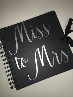 Miss to Mrs memory book bridal shower bachelorette by NoraKatie Wedding Props, Wedding Bride, Wedding Day, Best Bridal Shower Gift, Bridal Showers, Bridesmaid Tips, Jasmine Bridal, Memory Books, Maid Of Honor