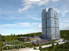 High Quality Apartments For Sale in Bahcesehir Istanbul with Lake Views