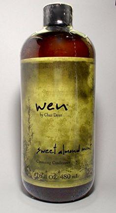 WEN Chaz Dean Sweet Almond Mint Cleansing Conditioner 16 oz with Free Pump WEN® by Chaz Dean http://www.amazon.com/dp/B0089AA8RS/ref=cm_sw_r_pi_dp_hRwCub1P8EJ7G