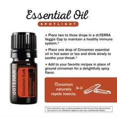 dōTERRA Essetial Oil - Cinnamon Bark