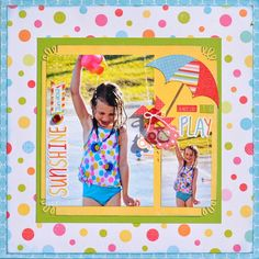 Image result for echo park summer fun layouts
