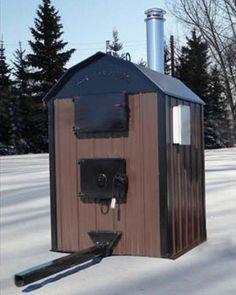 Portage & Main ML42 Outdoor Water Furnace - Obadiah's Wood Boilers