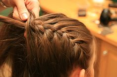 french braid. getting basic over here.