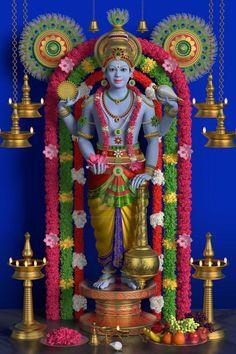 Guruvayurappan by Snehachandran on DeviantArt Bal Krishna, Krishna Statue, Krishna Art, Krishna Painting, Krishna Mantra, Krishna Lila, Ganesha Art, Radhe Krishna, Shiva Hindu