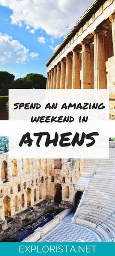Check out all the things to do in this weekend travel guide to Athens, Greece.