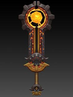 第七期基础课作品_pugui2001_新浪博客 Fantasy Blade, Fantasy Weapons, Fantasy Art, Armor Concept, Weapon Concept Art, Aztec Weapons, Different Drawing Styles, Rpg World, Magic Hat