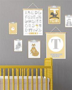 trend-geel-posters-babykamer