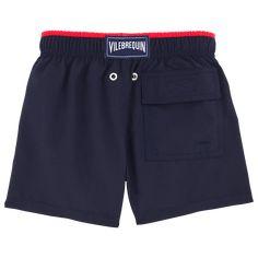 Chicos Corte Clásico Liso - Superflex liso, Navy / red back