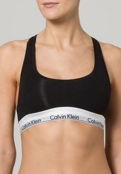 Calvin Klein Underwear MODERN COTTON - Top - black - Zalando.dk