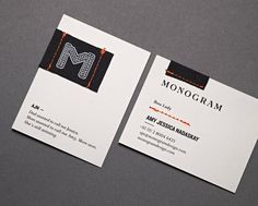 Oh So Beautiful Paper: Business Card Ideas and Inspiration #8