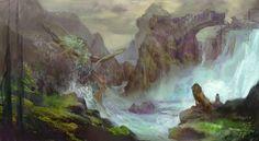 Prince Caspian the breaking of the bridge of Beruna
