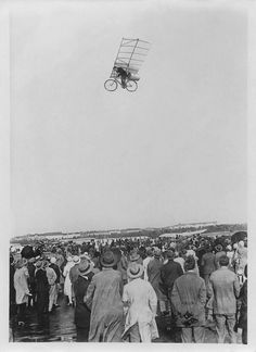 flying bicycle