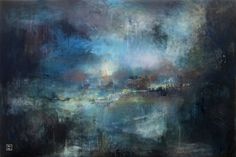 """Saatchi+Art+Artist+Joakim+Nordin;+Painting,+""""Lumi""""+#art"""