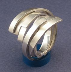 Sterling Silver Ring. Roland Dubuc