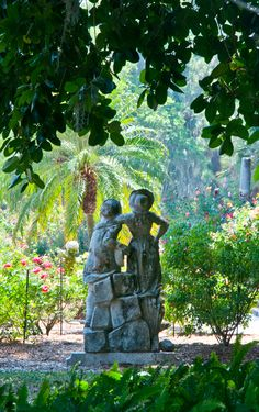Rose garden at Ringling Museum of Art. A Must Do Attraction when visiting the Sarasota area!