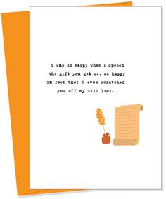 Uncooked Greeting Cards