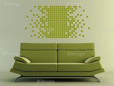 Pixels - Vinil de parede