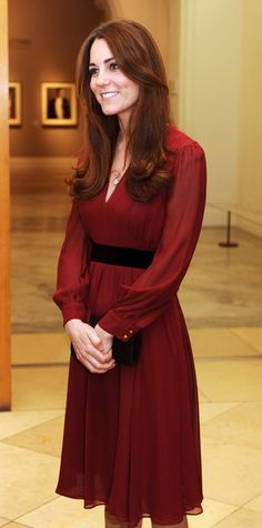 Catherine, Duchess of Cambridge.  Portrait by Paul Emsley is unveiled at The National Portrait Gallery.   1-11-13