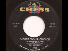 RADIANTS - VOICE YOUR CHOICE (CHESS)