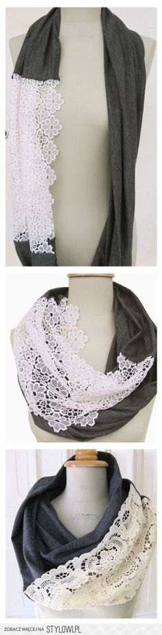 accessory tutorials / Make your own with stretch knit a… na Stylowi.pl