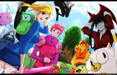 Adventure time cast gender swap, I'm not sure if this is anime (the animation) but I like it
