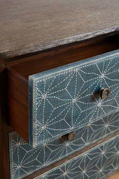 Boro Star Three-Drawer Dresser by Tracey Boyd