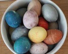 Dye eggs naturally........red and yellow beets, orange peel, tumeric, walnut shells, chili powder, yellow and red onions, crushed blueberries or cabbage