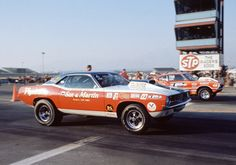 Vintage Drag Racing - Pro Stock - Sox + Martin vs Dyno Don