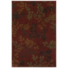 Mohawk Home Alcott Rust Red Rectangular Indoor Woven Area Rug Common 8 X Actual
