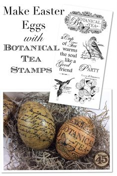 Botanical-Tea-Decoupage-Eggs