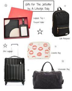 Gift Guide For The Jet Setter/Traveler