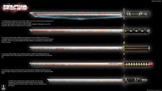 The Island: Katana Concepts by xynode.deviantart.com on @deviantART