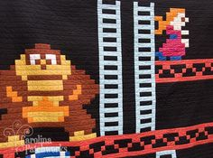 Donkey Kong quilt will keep your lonely self warm -- Engadget