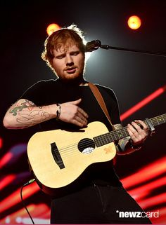 """Ed Sheeran performed """"Bloodstream"""" onstage during the 2015 Billboard Music Awards held at the MGM Grand Garden Arena on May 17, 2015 in Las Vegas, Nevada."""